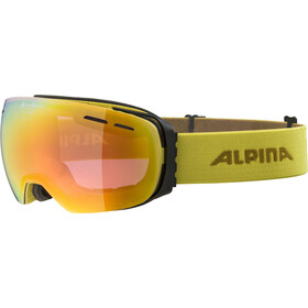 Alpina Granby QVM Goggles curry/red
